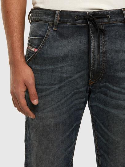 Diesel - Krooley JoggJeans 069NS, Blu Scuro - Jeans - Image 3
