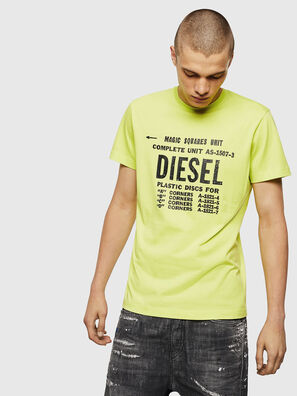 T-DIEGO-B6, Giallo Fluo - T-Shirts
