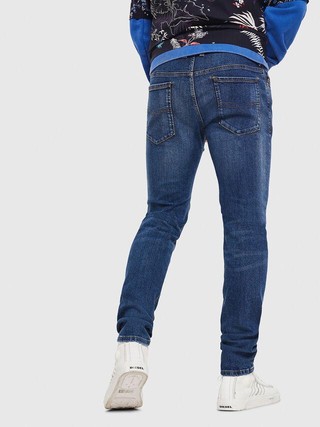 Diesel - Sleenker 069AJ, Blu medio - Jeans - Image 2