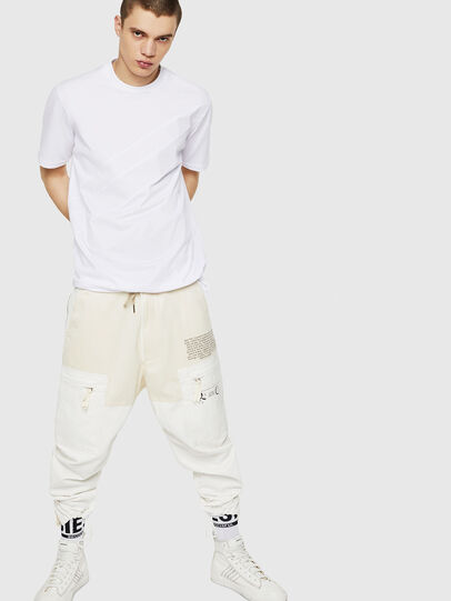 Diesel - T-ALEKSEY, Bianco - T-Shirts - Image 5
