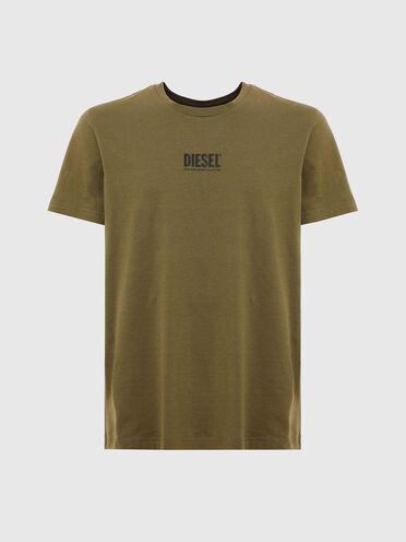 T-shirt con logo piccolo