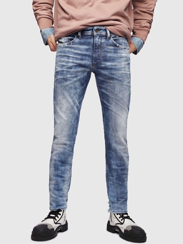 Diesel - Thommer JoggJeans 087AC, Blu medio - Jeans - Image 1