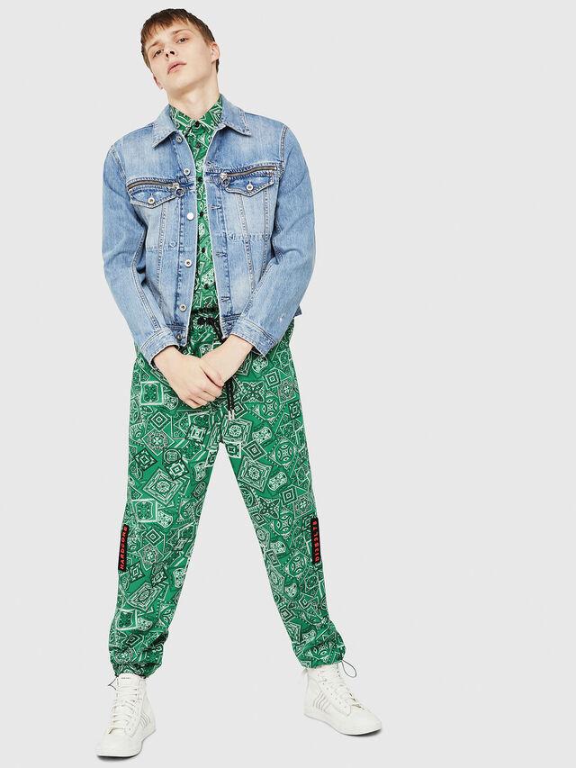 Diesel - D-ROY, Blu Jeans - Giacche in denim - Image 6