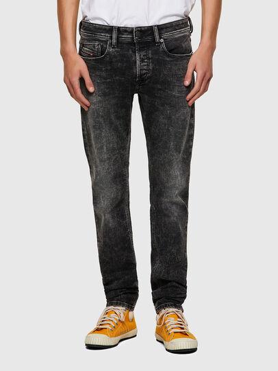 Diesel - Sleenker 09A17, Nero/Grigio scuro - Jeans - Image 1