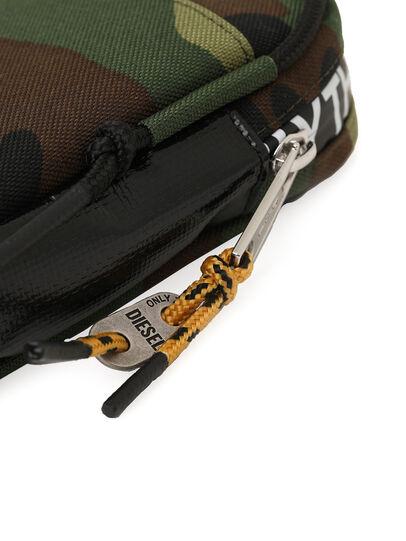Diesel - FAYRCASE, Verde Militare - Portafogli Con Zip - Image 5