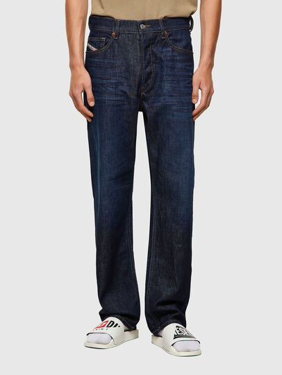Diesel - D-Macs 09A12, Blu Scuro - Jeans - Image 1