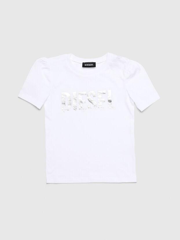 TRALLYB-R, Bianco - T-shirts e Tops