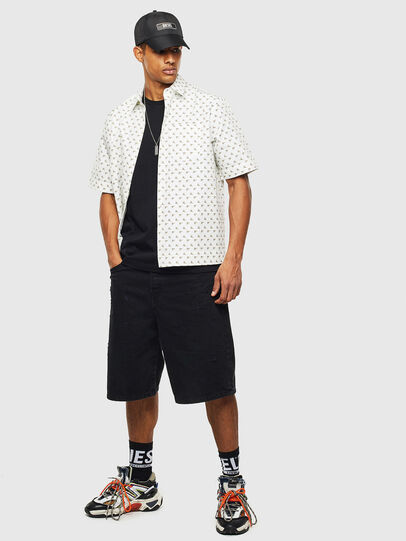 Diesel - S-ATWOOD-B, Bianco - Camicie - Image 4