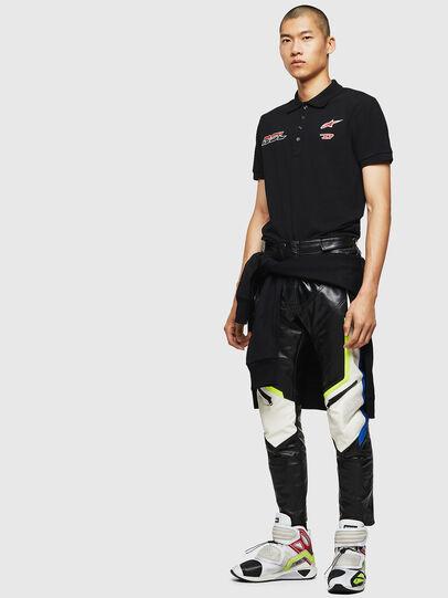 Diesel - ASTARS-T-NIGHT-NEW, Nero - T-Shirts - Image 6