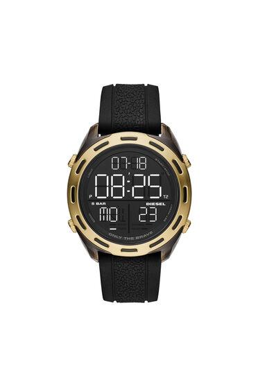 Orologio Crusher digitale con cinturino in silicone nero