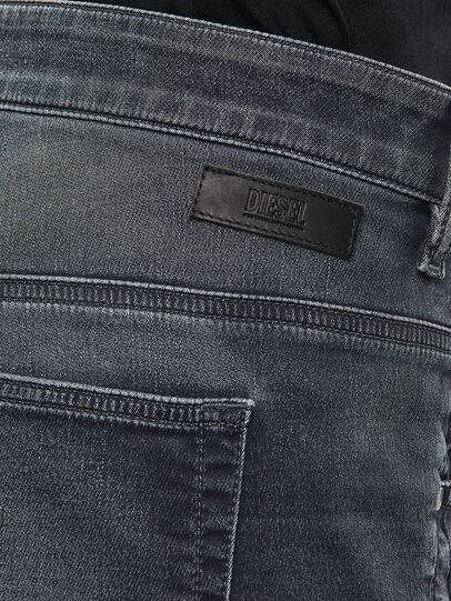 Diesel - FAYZA JoggJeans® 069QA, Nero/Grigio scuro - Jeans - Image 5