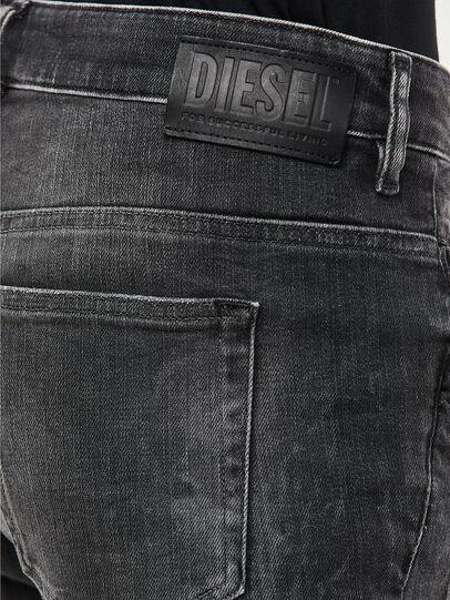 Diesel - Fayza 009IU, Nero/Grigio scuro - Jeans - Image 4