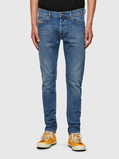 Diesel - D-Luster 009ZR, Blu Chiaro - Jeans - Image 1