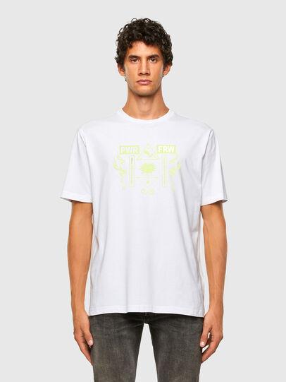 Diesel - T-JUST-X65, Bianco - T-Shirts - Image 4