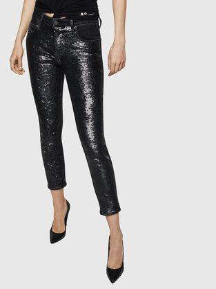 Babhila 0093G, Nero/Grigio scuro - Jeans