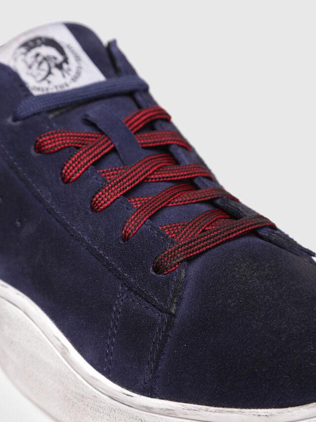 Diesel - S-CLEVER LOW, Blu Scuro - Sneakers - Image 4