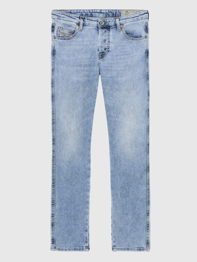 Diesel - Babhila A84PR, Blu Chiaro - Jeans - Image 1
