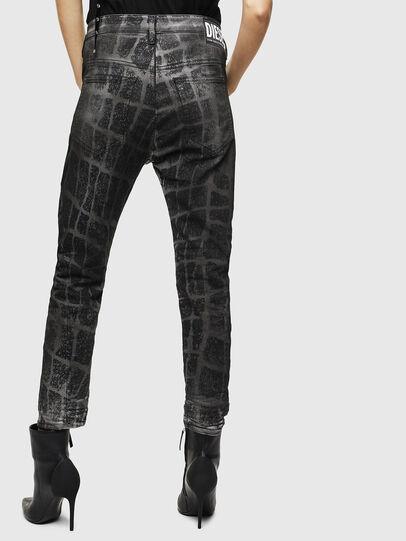Diesel - Fayza JoggJeans 0094M, Nero/Grigio scuro - Jeans - Image 2