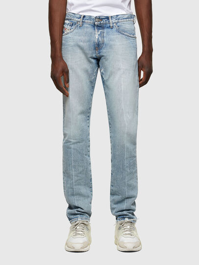 Diesel - D-Kras 009NC, Blu Chiaro - Jeans - Image 1