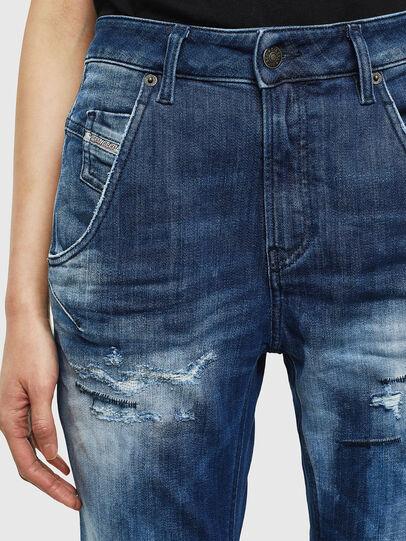 Diesel - Fayza JoggJeans 0099S, Blu Scuro - Jeans - Image 3