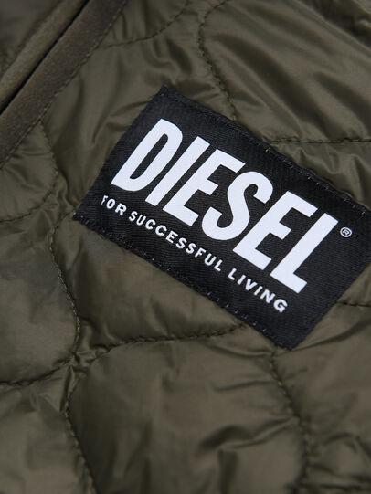 Diesel - SOKY OVER, Verde Militare - Felpe - Image 3