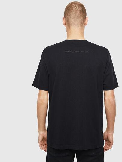 Diesel - T-JUST-T30, Nero - T-Shirts - Image 2
