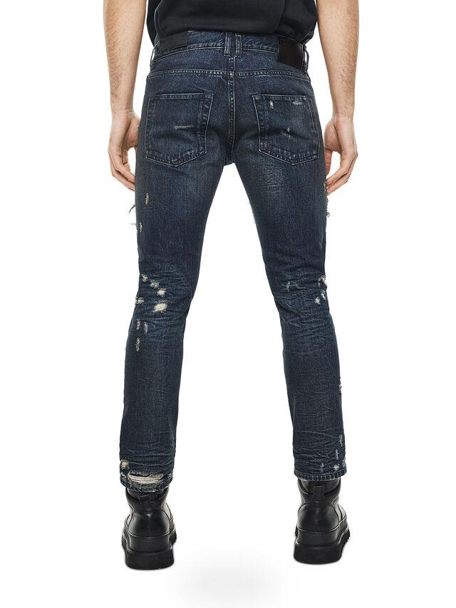 Diesel - TYPE-2813D, Blu Scuro - Jeans - Image 2