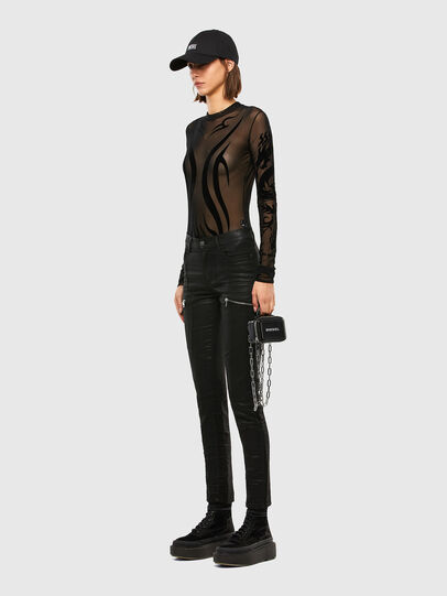 Diesel - D-Ollies JoggJeans® 069RK, Nero/Grigio scuro - Jeans - Image 8