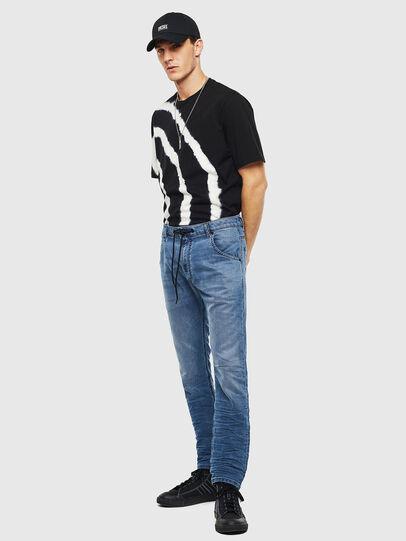 Diesel - Krooley JoggJeans 069MA, Blu medio - Jeans - Image 7