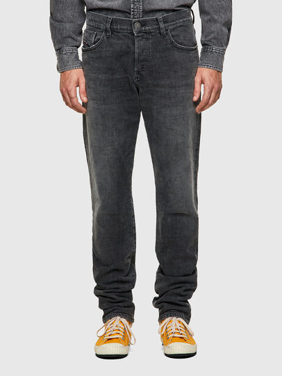 Diesel - D-Kras 09A3A, Nero/Grigio scuro - Jeans - Image 1