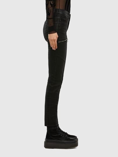 Diesel - D-Ollies JoggJeans® 069RK, Nero/Grigio scuro - Jeans - Image 4