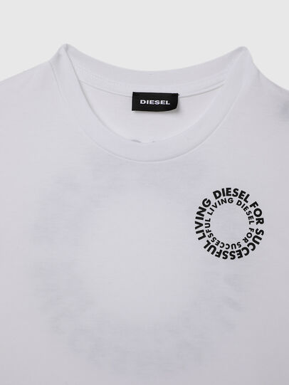 Diesel - TDIEGOSX46, Bianco - T-shirts e Tops - Image 3