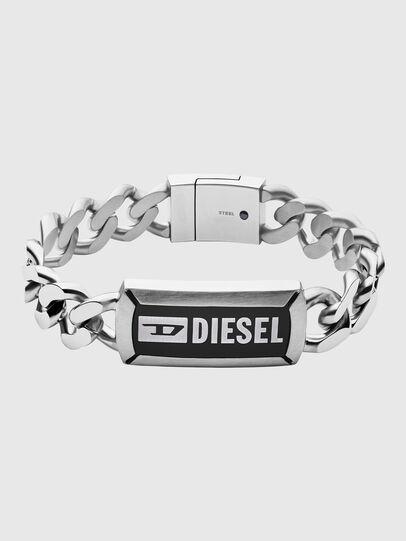 Diesel - DX1242, Argento - Braccialetti - Image 1