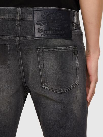 Diesel - D-Strukt 009MZ, Nero/Grigio scuro - Jeans - Image 3