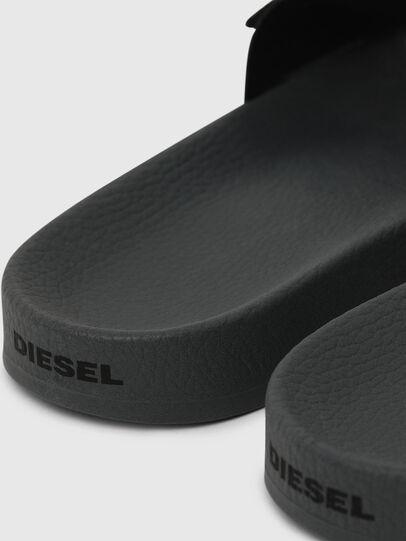 Diesel - SA-VALLA W, Nero/Rosa - Ciabatte - Image 4