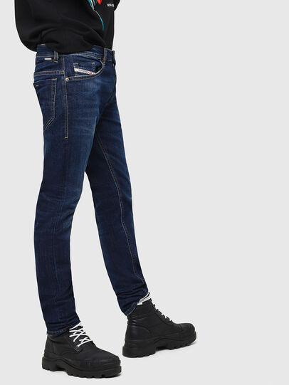 Diesel - Thommer 082AY, Blu Scuro - Jeans - Image 5