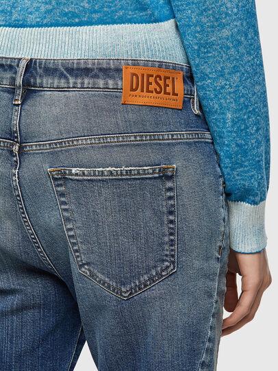 Diesel - Fayza 09A08, Blu medio - Jeans - Image 3