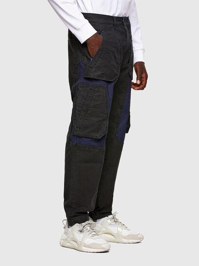 Diesel - D-Eluxerr JoggJeans® 0DDAV, Nero/Grigio scuro - Jeans - Image 2
