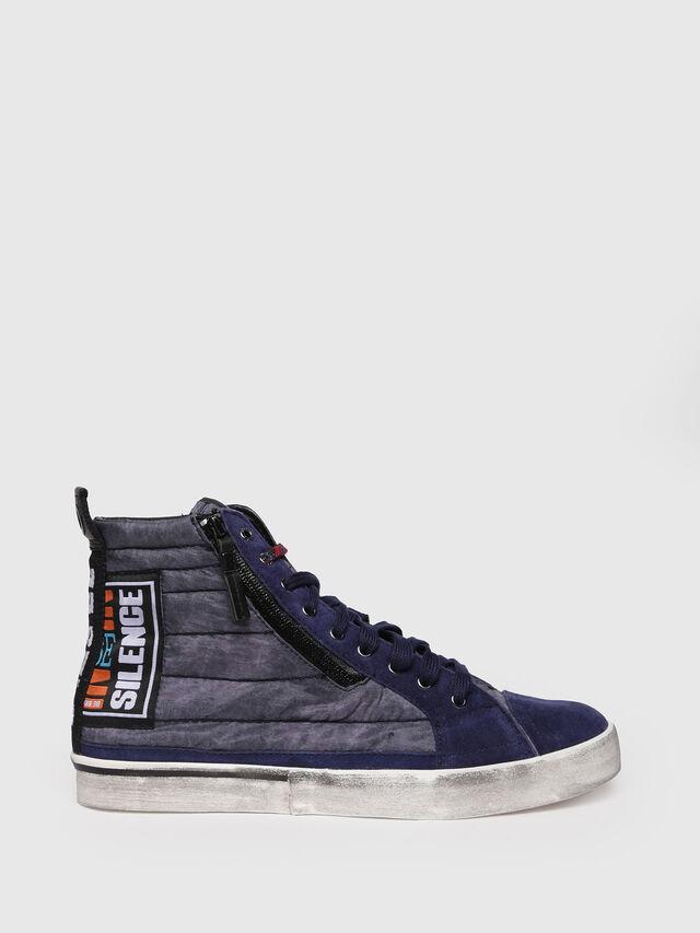 Diesel - D-VELOWS MID PATCH, Blu Scuro - Sneakers - Image 1