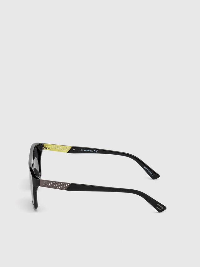 Diesel - DL0268, Nero - Occhiali da sole - Image 3