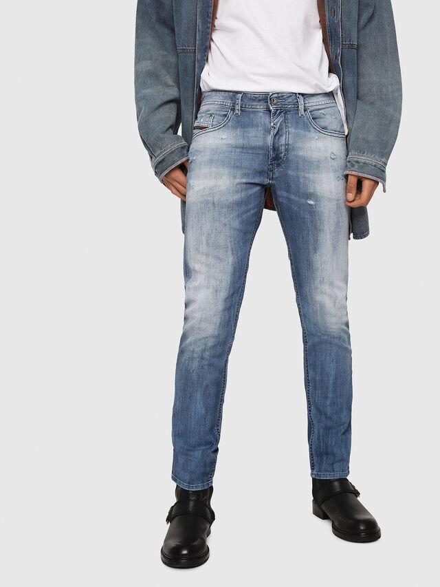 Diesel - Thommer 081AS, Blu medio - Jeans - Image 1