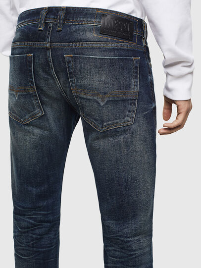 Diesel - Zatiny 0096U, Blu Scuro - Jeans - Image 5