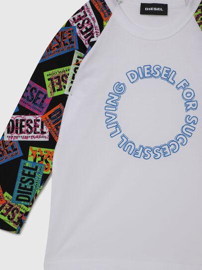 Diesel - TENTYB-R, Bianco - T-shirts e Tops - Image 3