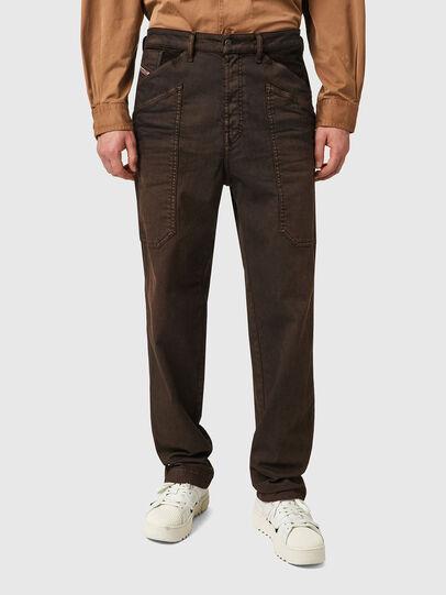 Diesel - D-Franky 09B38, Marrone - Jeans - Image 1
