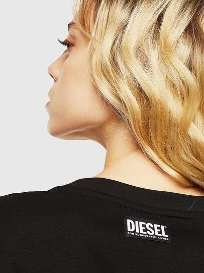Diesel - T-DARIA-Y, Nero - T-Shirts - Image 5