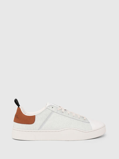 Diesel - S-CLEVER LOW LACE, Bianco/Marrone - Sneakers - Image 1