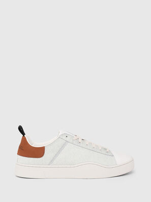 S-CLEVER LOW LACE, Bianco/Marrone - Sneakers
