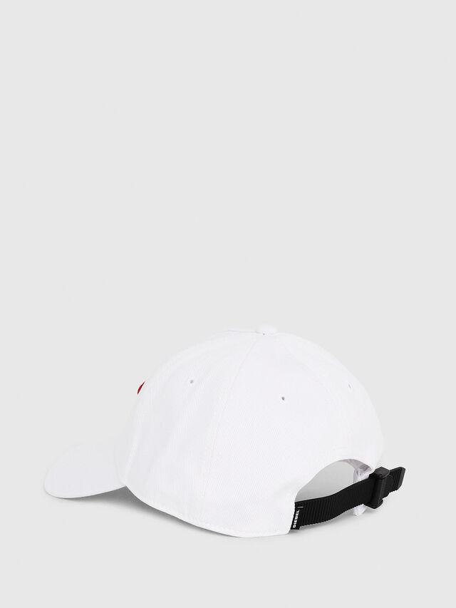 Diesel - C-DIGRA, Bianco - Cappelli - Image 2