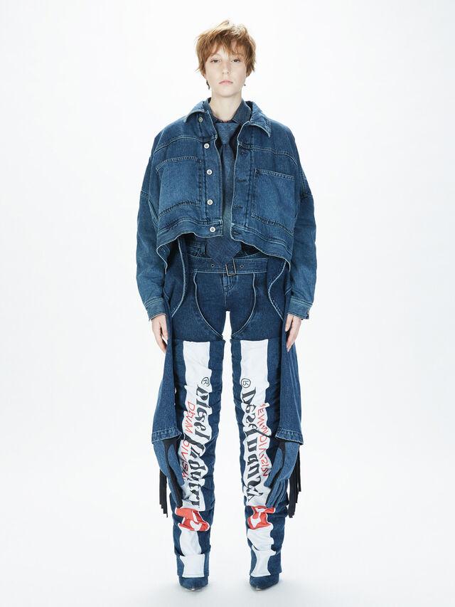 Diesel - SOTS01, Blu Jeans - Camicie - Image 8