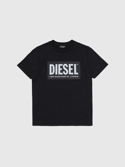 Diesel - TUSTY, Nero - T-shirts e Tops - Image 1